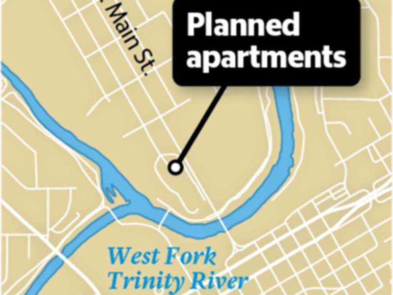 Developer buys land for first apartments at Fort Worth's Panther Island