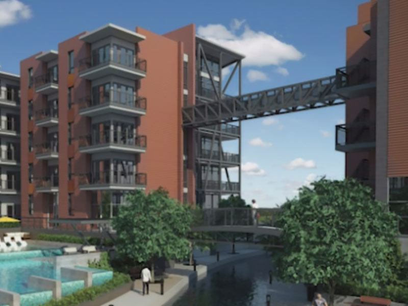 CBS 11: Encore Enterprises breaks ground on the first multi-family community on Panther Island