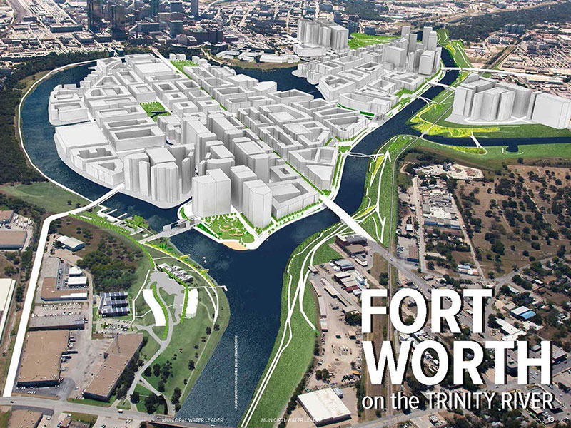 Fort Worth on the Trinity River
