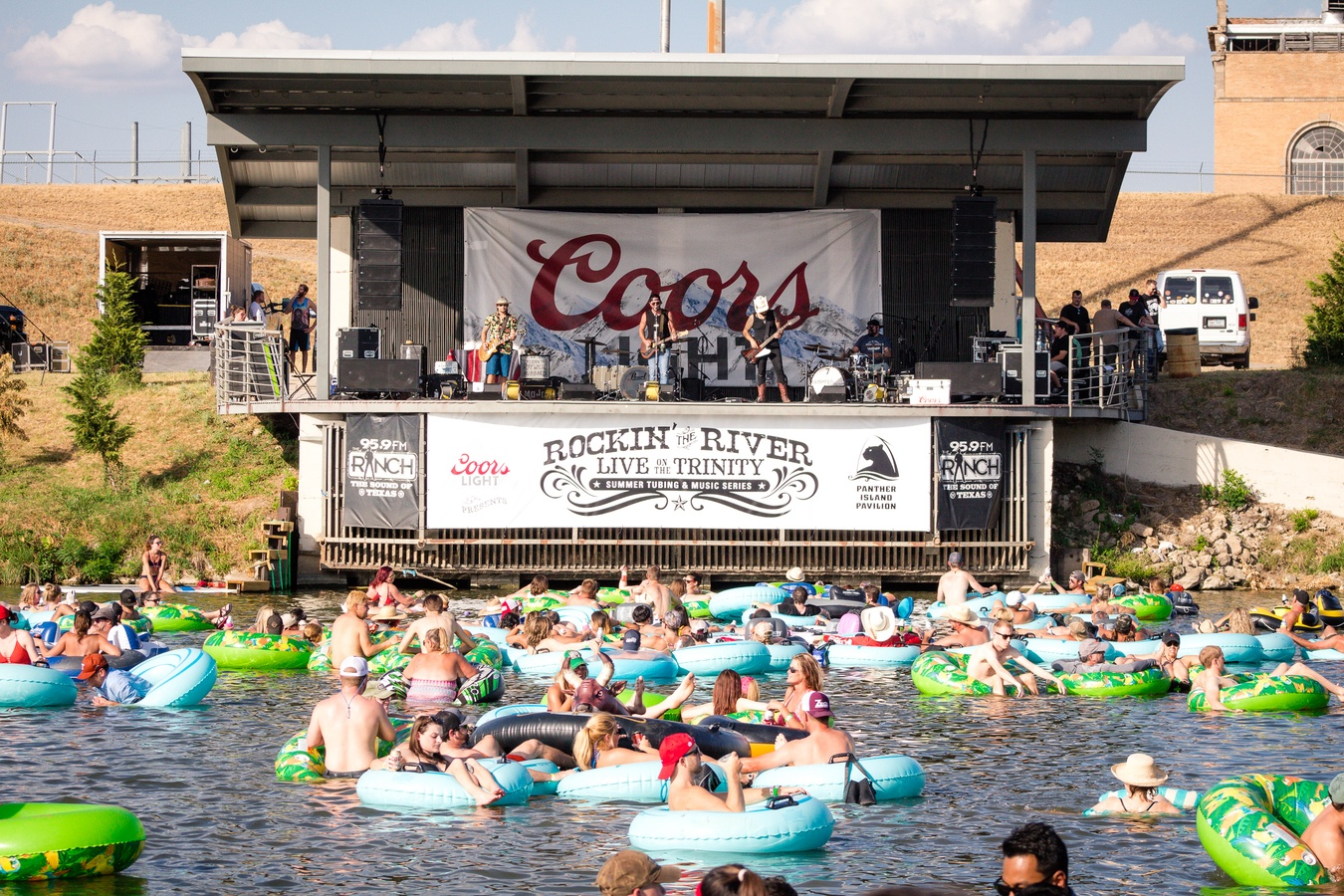 Rockin' the River Kicks off on July 6th in Fort Worth