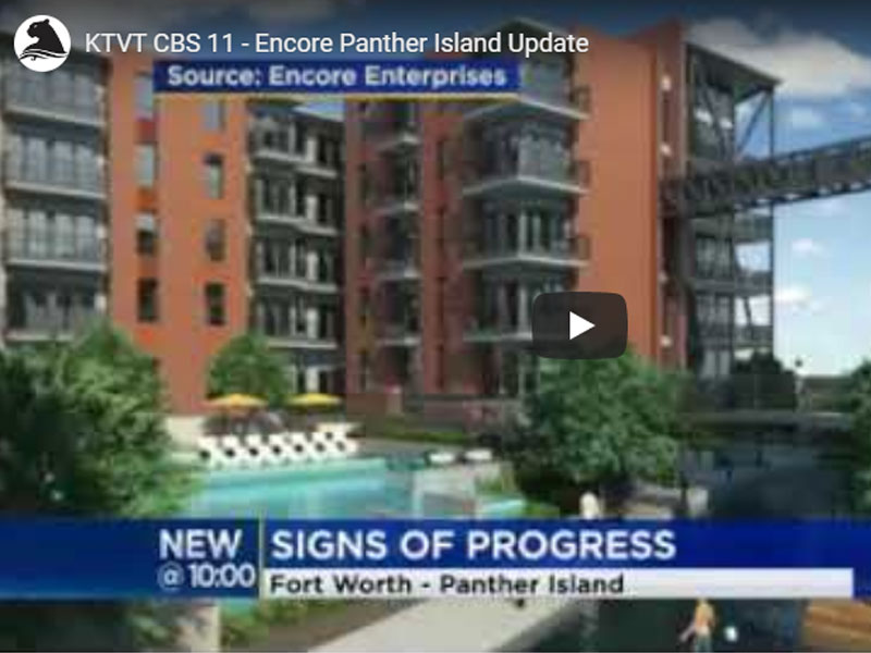 CBS 11: Encore Panther Island Progress