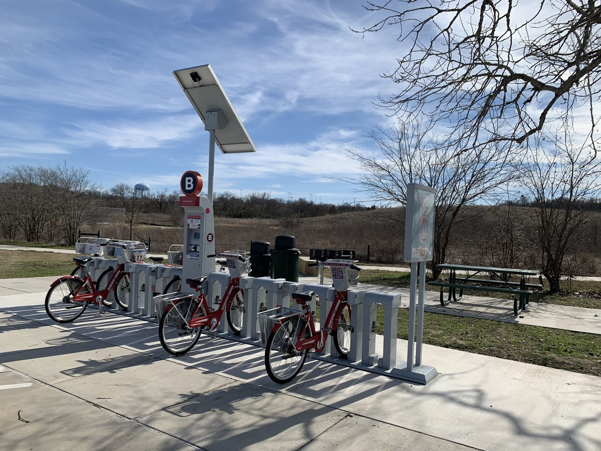 Gateway Park Receives New Bike-Sharing Location