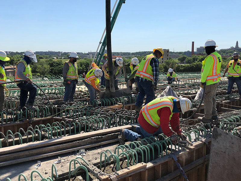TxDOT Signature Bridge Project Progress July 2020