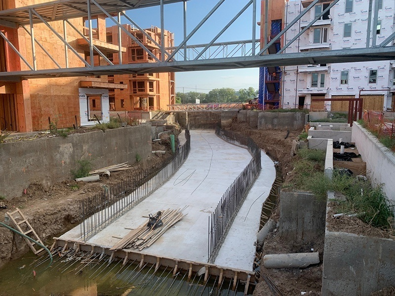 Panther Island Stormwater Canal Progress