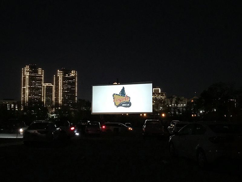 Upcoming Coyote Drive-In Events
