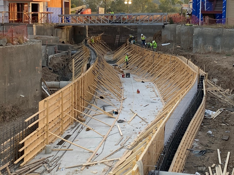 Panther Island Canal October Construction Update