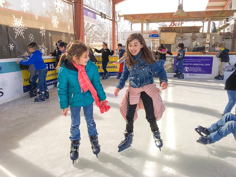 Panther Island Ice Returns for the Holidays