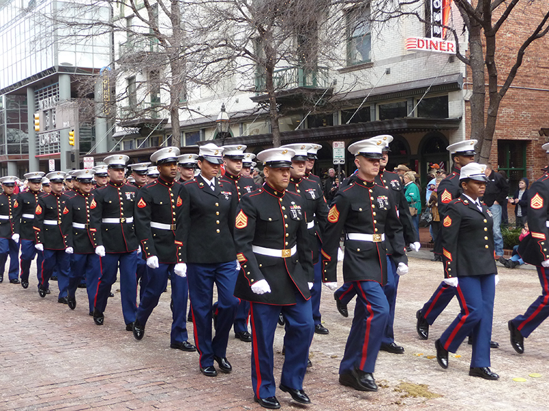Veterans Day Parade to Take New Route