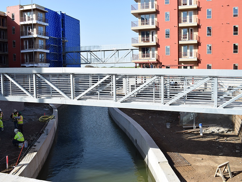 The Panther Island Riverwalk is a model public-private partnership providing much needed stormwater infrastructure that is financed by the private sector!