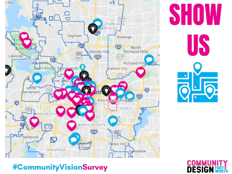Participate in the Community Vision Survey