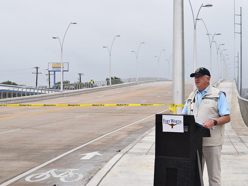White Settlement Bridge Ribbon Cutting Ceremony, Fort Worth, TX