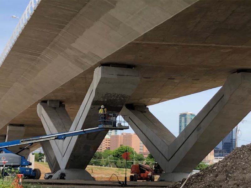 Signature V-Pier Panther Island Bridges Update May 2021
