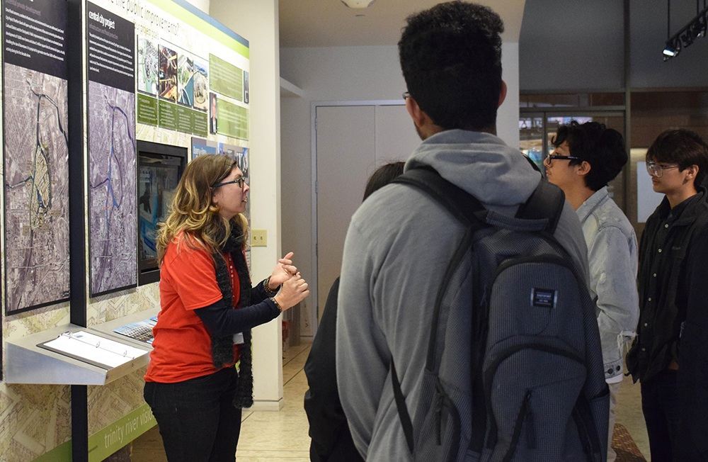 Project Presentation to the IM Terrell Academy for STEM Students - February 2019