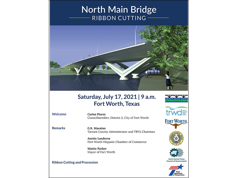 North Main Street Bridge – Ribbon Cutting Ceremony!