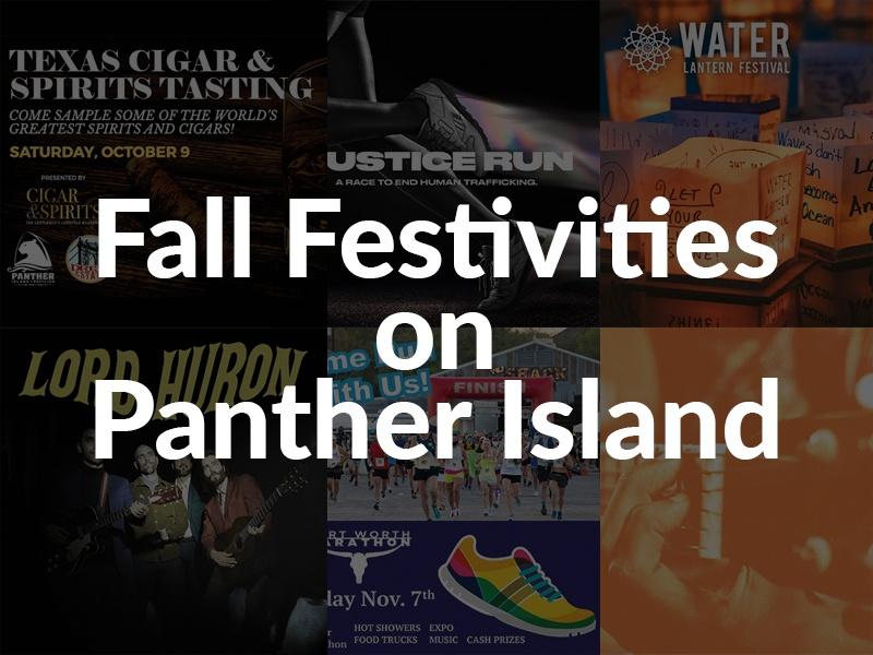 Fall Festivities on Panther Island