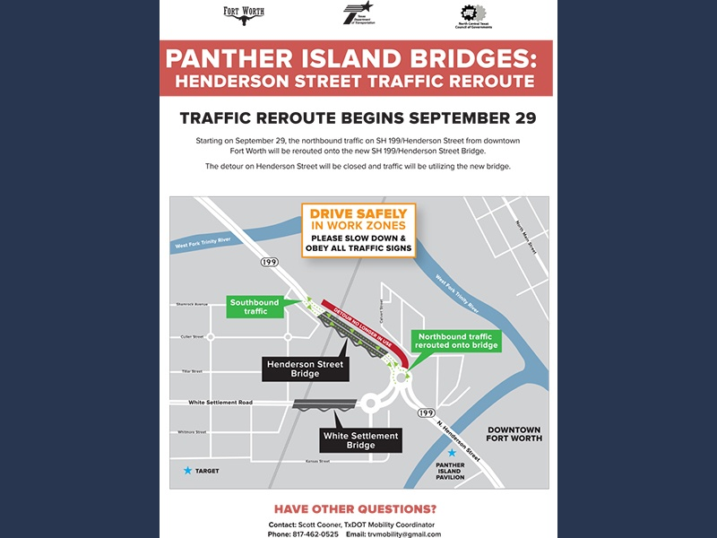 All Three Panther Island Signature V-Pier Bridges Open to Traffic