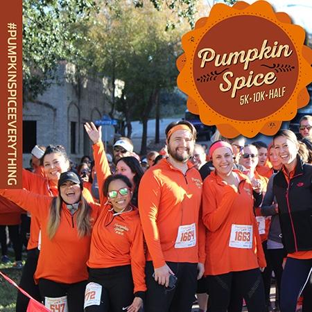 Pumpkin Spice 5K/10K & Half Marathon - Panther Island Pavilion