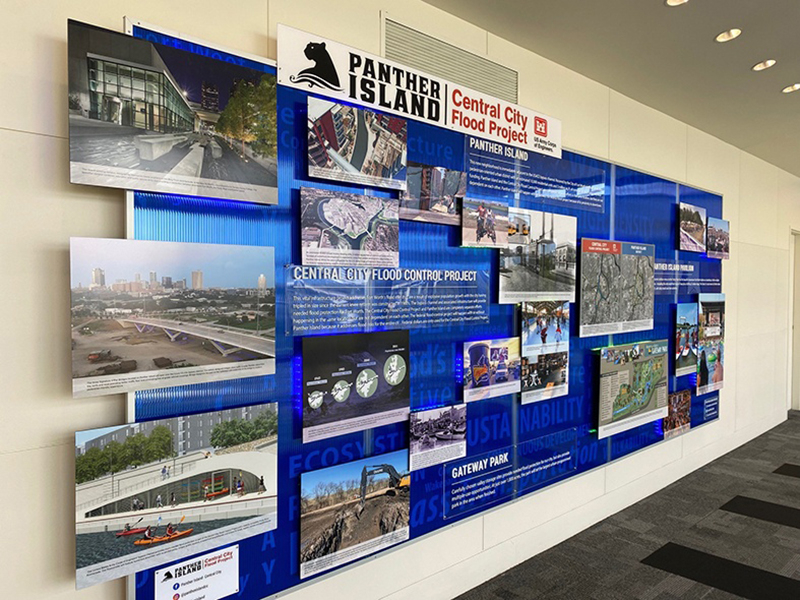 Project Display at Tarrant County College Trinity River Campus